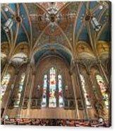 St. Michael's Church Windows Acrylic Print