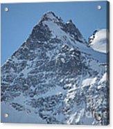 St Mortiz Peaks Acrylic Print