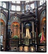 St Nicholas Church Interior In Amsterdam Acrylic Print