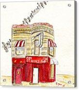 St. Nick's Jazz Pub Acrylic Print