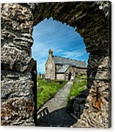 St Patrick Arch Acrylic Print by Adrian Evans
