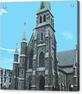 St Patrick Cathedral Acrylic Print