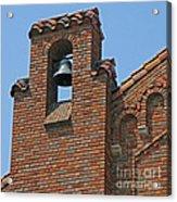 St Patrick Parish Bell Tower Acrylic Print