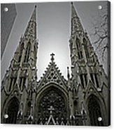 St. Patricks Cathedral  Acrylic Print by Angela Wright