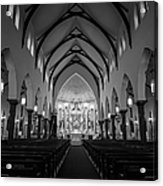 St Patricks Cathedral Fort Worth Acrylic Print