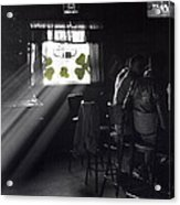 St. Patrick's Day At The Suffern Hotel Acrylic Print
