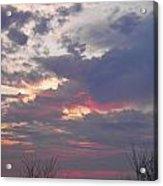 St Patty's Sunset Acrylic Print