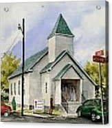 St. Paul Congregational Church Acrylic Print