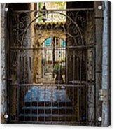 St Paul Courtyard Acrylic Print