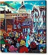 St Paul Winter Carnival Love Parade Acrylic Print