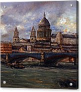 St. Paul's  Cathedral  - London Acrylic Print