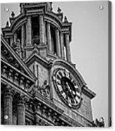 St Pauls Clock Tower Acrylic Print