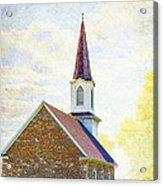 St Paul's Lutheran Church Acrylic Print
