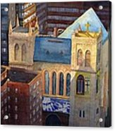 St Pauls Nyc Acrylic Print