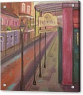 St. Peter Street Acrylic Print by Lilibeth Andre