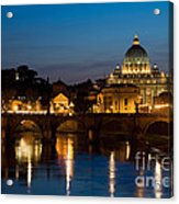 St. Peters Basilica Acrylic Print