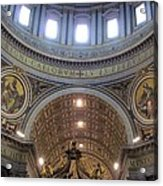St. Peters Basilica Vatican City Rome Italy Acrylic Print