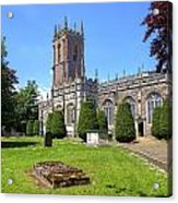 St Peter's Church - Tiverton Acrylic Print