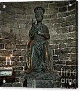 St Peters Medieval Church Porto Venere Acrylic Print