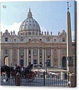 St. Peters Square - Vatican City Acrylic Print