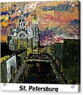 St  Petersburg Acrylic Print