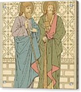 St Philip And St James Acrylic Print by English School