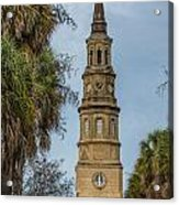 St. Philip's Episcopal Church Charleston Sc Acrylic Print