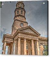 St. Philip's Episcopal Church In Charleston Acrylic Print