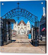 St Roch's Cemetery Acrylic Print