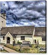 St Sannans Church Bedwellty 3 Acrylic Print