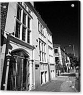 st saviours house home to united st saviours charity union street London England UK  Acrylic Print
