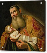 St Simeon Presenting The Infant Christ In The Temple  Acrylic Print