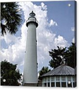 St. Simon's Island Georgia Lighthouse Acrylic Print