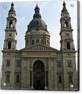 St Stephens Basilica Budapest Acrylic Print