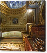 St. Stephens Ceiling 1 Acrylic Print