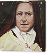 St. Therese Of Lisieux Acrylic Print