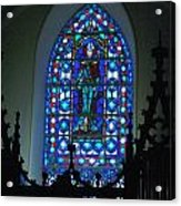 St Thomas Stained Glass Acrylic Print