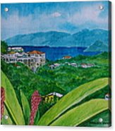 St. Thomas Virgin Islands Acrylic Print