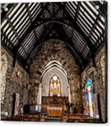 St Tudcluds Church Acrylic Print by Adrian Evans