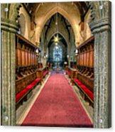 St Twrog Church Acrylic Print
