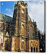 St. Vitus Cathedral Acrylic Print