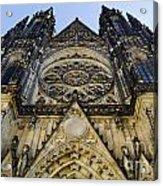 St Vitus Church In Hradcany Prague Acrylic Print by Jelena Jovanovic