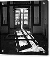 St X School Doorway Acrylic Print
