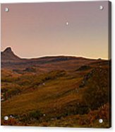 Stac Polly Moonrise Acrylic Print