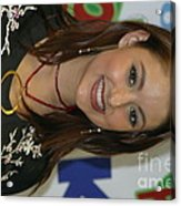 Singer Stacie Orrico Acrylic Print