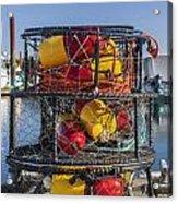 Stack Of Crab Pots Acrylic Print