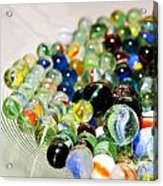 Stack Of Marbles Acrylic Print