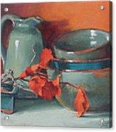 Stacked Bowls #4 Acrylic Print