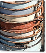 Stacked Buckets Acrylic Print