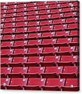 Stadium Seating Acrylic Print